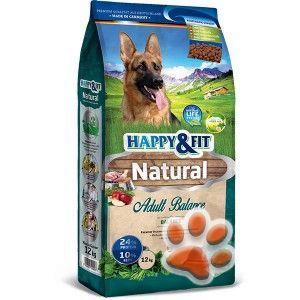 Happy&Fit Natural Adult Balance kutyatáp 12kg