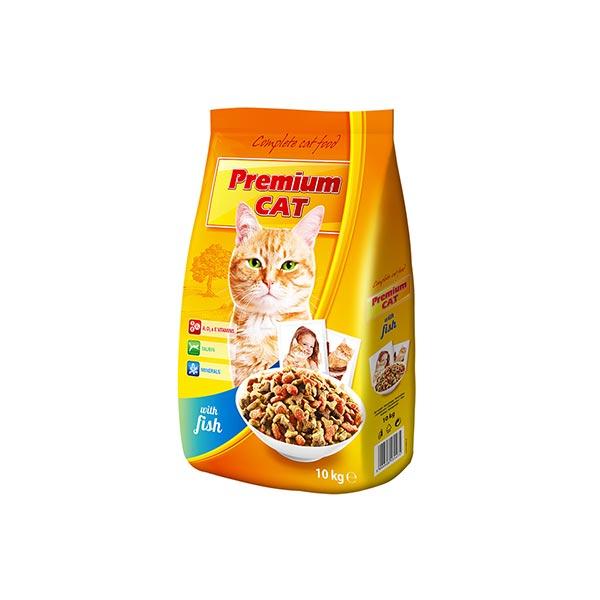 Premium Cat macska száraz táp halas 10 kg hellodog-kutyatapok-eu