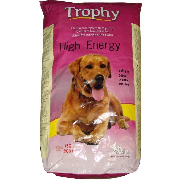 TROPHY DOG HIGH ENERGY 2x20kg-hellodog-kutyatapok-eu