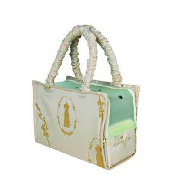 Kutyahordozó táska bézs 17x26x36 cm Hellodog Webshop ba94171e59