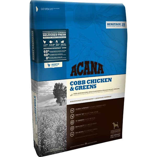 Image of ACANA Cobb Chicken & Greens kutyatáp 17 kg