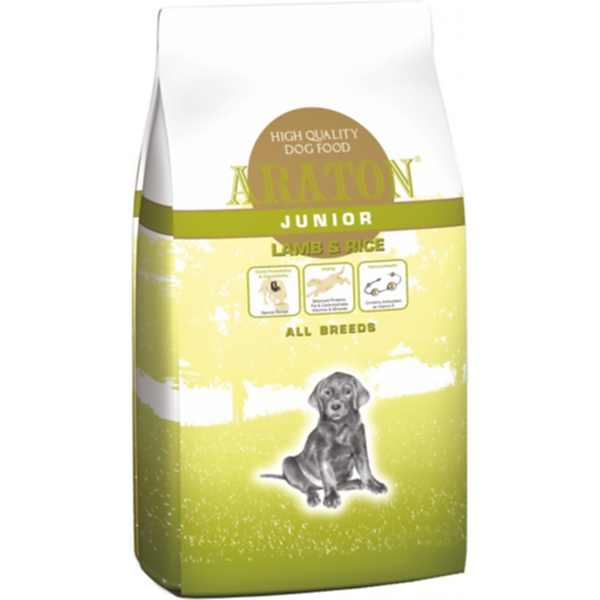 art44788-araton-dog-junior-lamb-rice-erzekeny-kolyokkutyaknak-15kg-hellodog-kutyatapok-eu