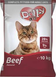 Dolly Cat macskaeledel marhás 10 kg