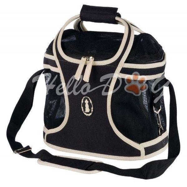 Kutya szállítótáska 20x22x34cm fekete - kutyatapok.eu -Hellodog-Webshop 99d3fc3969