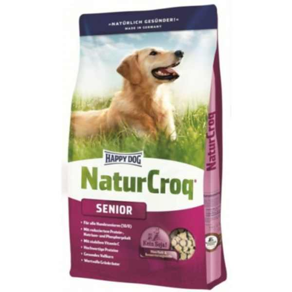 naturqseinor4 happy dog natur-croq senior 4kg idős kutyatáp hellodog kutyatapok.eu